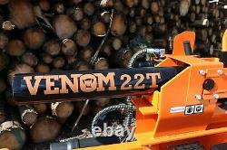 22Ton Venom Log Splitter With Table. £1,899.99 Inc Vat + eBay fees