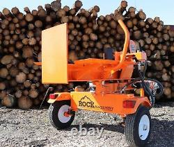 22ton Venom 2020 Log Splitter towable With Table & BS vanguard by Rock Machinery