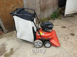 Alko 750B wheeled leaf vacuum with Briggs & Stratton engine