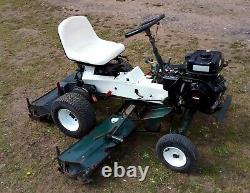 Allen National 68 Ride On Cylinder Mower 5 1/2 Ft Cut Briggs and Stratton Engine