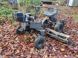 Allen National triplex triple gang ride on lawn mower Briggs & Stratton engine