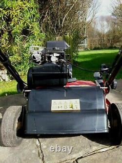 Apache Vt 35 3.5hp Briggs & Stratton Motor Petrol Lawn Scarifier