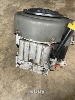 BRIGGS & STRATTON 20hp GOOD RUNNING ENGINE MOTOR 1 SHAFT 407677 0258 E1