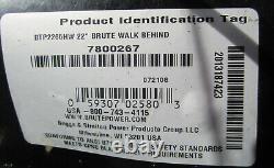BRUTE Briggs & Stratton 650 Series ENGINE - BRUTE 22 WALK BEHIND PUSH MOWER