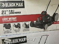 Black Max 21 125cc Gas 2-in-1 Push Mower with Briggs & Stratton Engine NEW IN BOX
