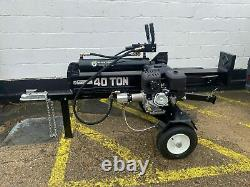 Black tools 40 Ton Big Boy Log Splitter Briggs & Stratton 14 hp engine, 420cc