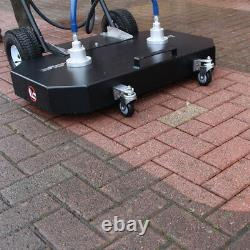 Block Paving Cleaning Machine + Petrol Pressure Washer + 36 Patio Cleaner