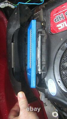 Briggs & Stratton 12.5HP I/C petrol engine ride on lawn mower fully serviced