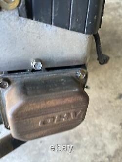 Briggs & Stratton 20hp V- Twin engine 406577 0139 E1 Good Running 1