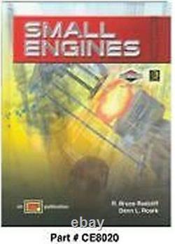 Briggs & Stratton Ce8020 Master Small Engines Textbook / Testing Literature