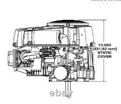 Briggs & Stratton INTEK 19 HP Electric Start Engine 1 Crank 33S877-0019-G1