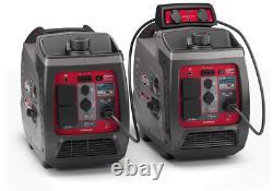 Briggs & Stratton Petrol Portable Inverter Generator PowerSmart Series New Stock