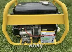 Briggs & Stratton Promax 9hp Vanguard 6kva petrol Generator ElectrIc Key Start