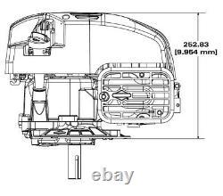 Briggs & Stratton Ready Start 725EXI Series Engine 25MM Crank 104M02-0196-F1