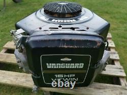 Briggs & Stratton Vanguard V-Twin 16HP Petrol Engine For Ride On Lawn Mower