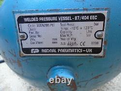 CLARKE INDUSTRAIL AIR COMPRESSOR 50lts 6.5HP BRIGGS & STRATTON 10.2 BAR PETROL