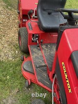 COUNTAX RIDE ON MOWER C400H 18hp Briggs & Stratton sweeper grass box Hydrostatic