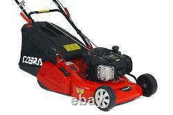 Cobra RM46SPB 18 Petrol Self Propelled Briggs & Stratton Rear Roller Lawnmower