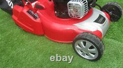 Cobra RM46SPB 46cm Petrol Self Propelled Briggs & Stratton Rear Roller Lawnmower