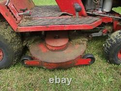 Countax ride on mower 36 inch cut, 14 hp briggs and stratton vanguard