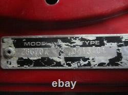 Craftsman Briggs & Stratton 12.5hp Good Running Engine Motor 286707