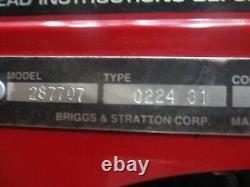 Craftsman Briggs & Stratton 14.5hp Good Running Engine Motor 287707