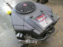 Craftsman Briggs & Stratton 22hp Good Running Engine Motor 445677 1 1/8 Shaft