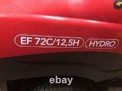 Efco 72C/12.5H Briggs & Stratton engine hydrostatic drive ride on mower