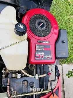 Efco (Emak) 12.5M Ride-On Mower Electric Key Start Briggs & Stratton engine