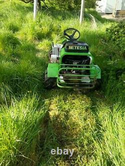 Etesia Attila rough cutting bank mower/brush cutter, 16hp Briggs and Stratton