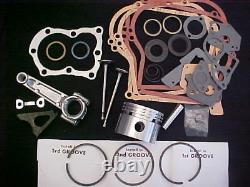 For 5HP 5 horse power, for Briggs and Stratton rebuild 010 Bore, Rod, Valves