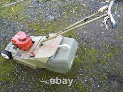 Hayter 48 vintage petrol roller mower. Briggs & Stratton