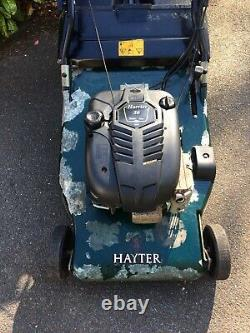 Hayter Harrier 56 Electric Start Lawn Mower With Briggs & Stratton Intek Edge
