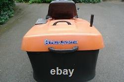 Husqvarna CT 130 Ride on lawn mower tractor Briggs & Stratton 13hp engine