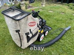 IBEA Turbo 50 Walk Behind Petrol Leaf Vacuum Briggs And Stratton 5hp Engine