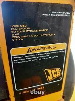 Jcb Sitemaster Rotavator With 5 HP Petrol Engine