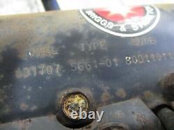 John Deere 108 Briggs & Stratton 8hp Good Running Engine Motor 191707
