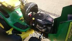 John Deere L120 ride on mower 48deck 20HP Briggs and Stratton V twin engine