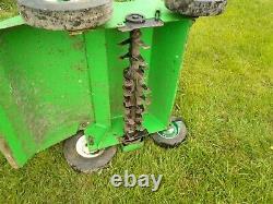 Lawn boy 20ins petrol scarifier, pro commercial machine, Briggs & Stratton