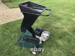 Masport Petrol Chipper Shredder 6.5HP Briggs and Stratton on Wheels Large