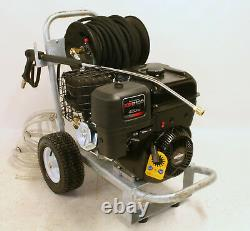 New Briggs And Stratton Petrol Jet Washer Pressure Washer Hose Reel 30 Meters