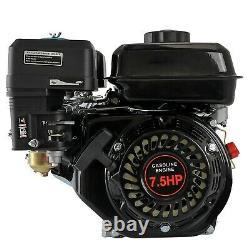 OHV Engine 7.5HP 210cc Horizontal Shaft 168F 170F Pullstart Briggs & Stratton