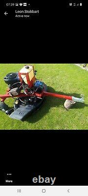Paddock mower/topper/quad mower. Towable mower. Electric start briggs and stratton