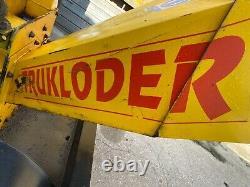 Petrol 4 inch trukloader Wood chipper