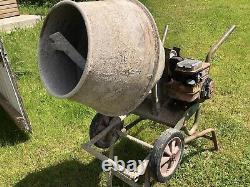 Petrol Cement Mixer Briggs & Stratton Engine