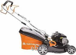 Petrol Lawnmower Yard Force 46cm Self-Propelled & Briggs & Stratton Engine 450E