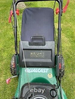 Qualcast self propelled petrol lawnmower Briggs and Stratton engine