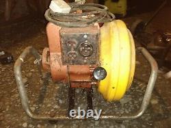 RARE McCulloch H2000 Briggs Stratton Petrol Generator Spares Repair Vintage 1976