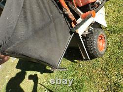 Ride On Small Easy Petrol Lawn Mower. Alko Master 9 55. New Battery Cornwall