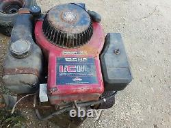 Ride on lawn mower 12.5 HP Briggs & and Stratton Petrol Engine i/c red top